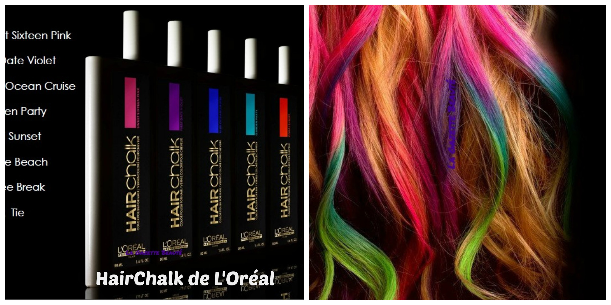 25 le flacon dune couleur - Coloration Cheveux Craie