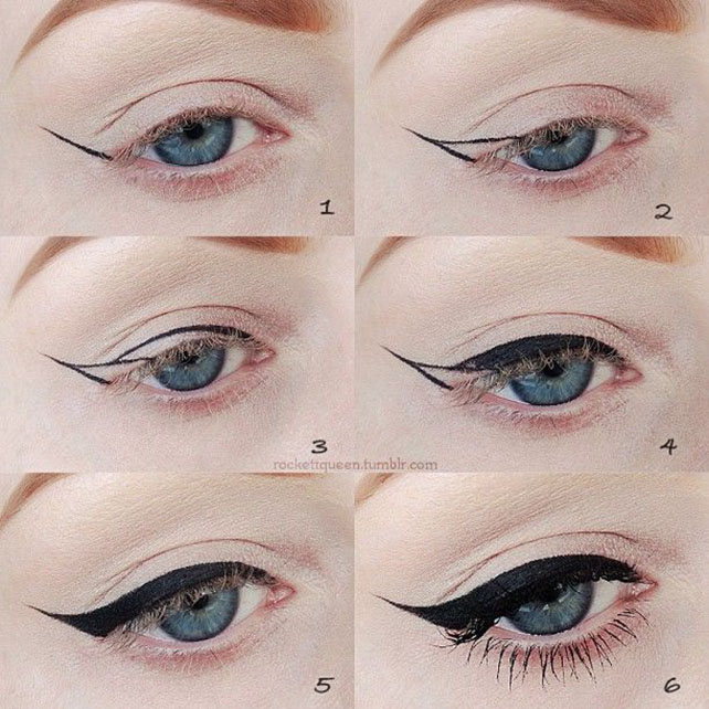 Simple-Winged-Cat-Eye-Makeup-Tutorial