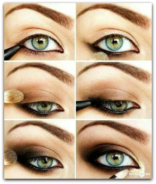 Extrem Maquillage des yeux charbonneux - cosmake-up RF98