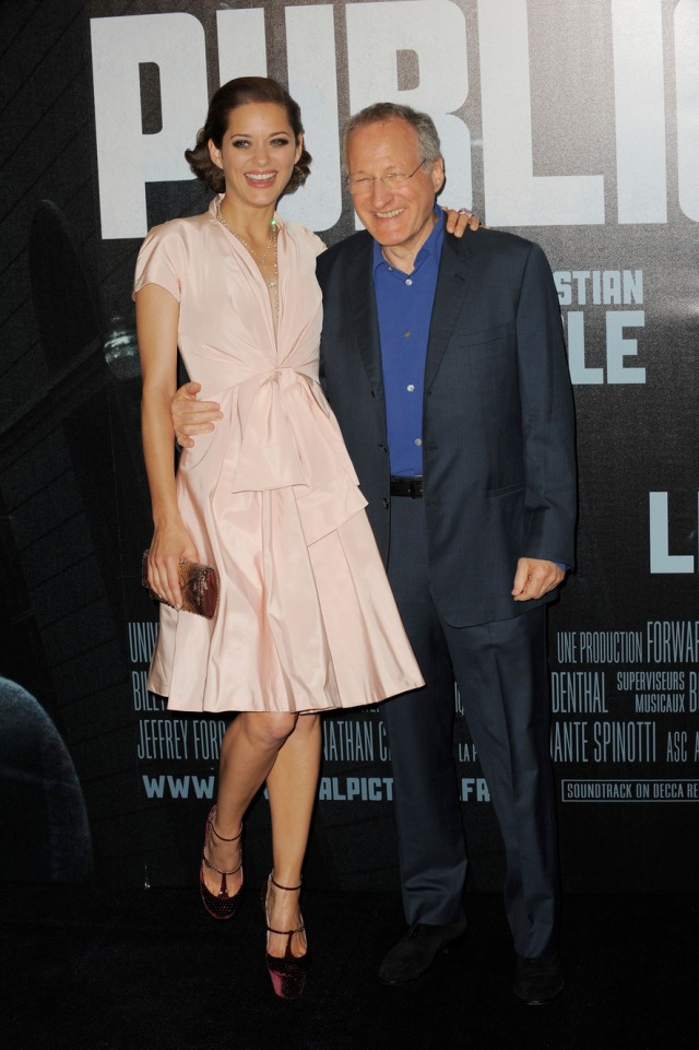 "France - ""Public Enemies"" Premieres in Paris."