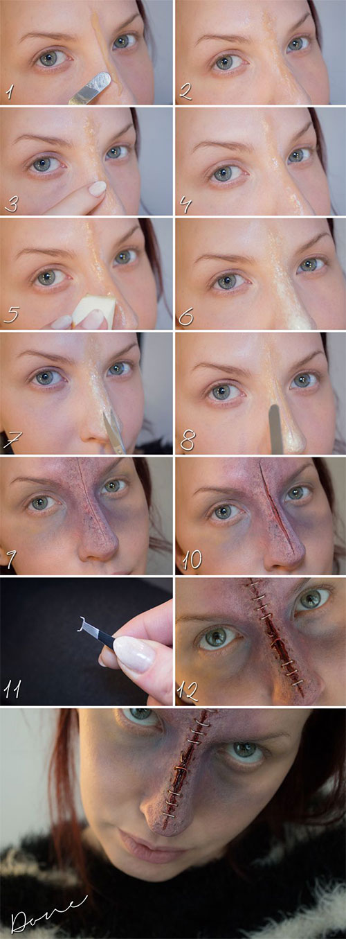 15-Easy-Step-By-Step-Halloween-Make-Up-Tutorials-For-Beginners-2014-2