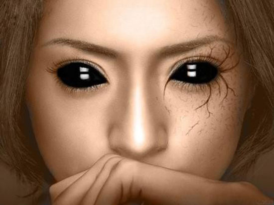 25-Best-Crazy-Scary-Halloween-Make-Up-Looks-Ideas-2012-For-Girls-Women-17