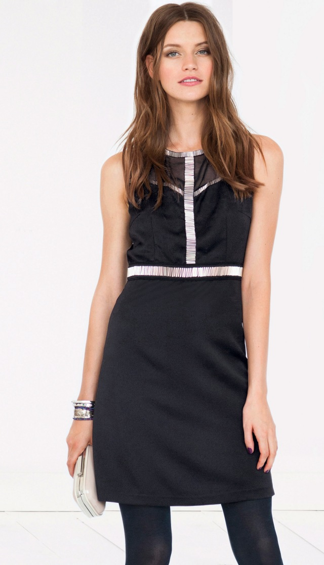 LA-REDOUTE---Soft-Grey-black-dress---44.99